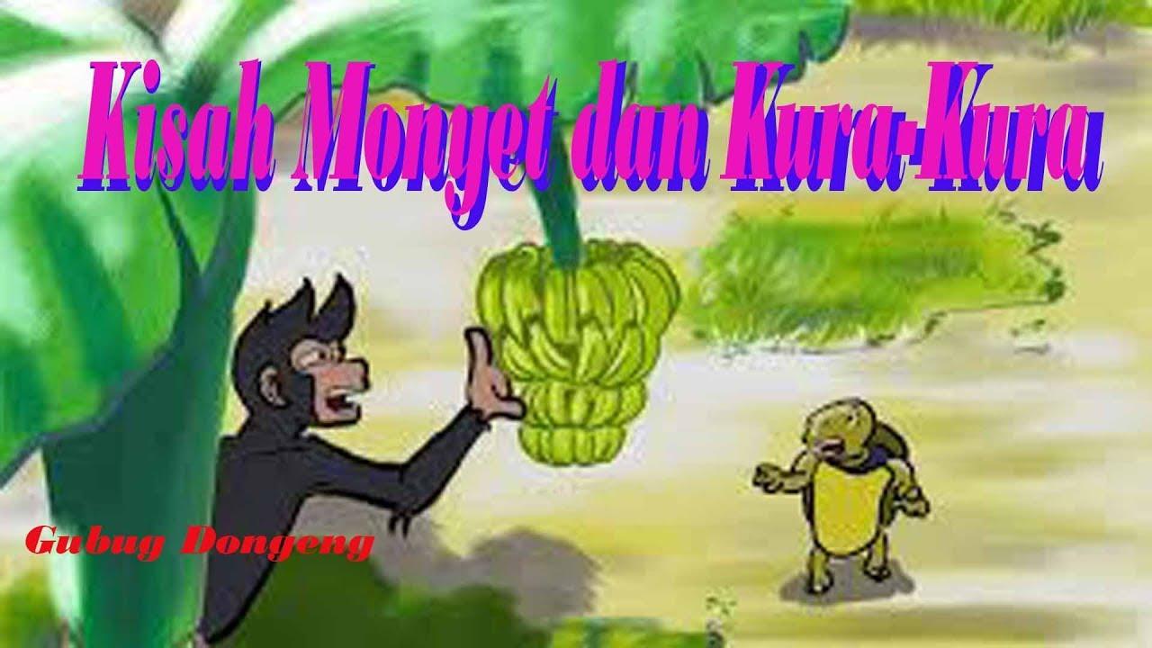 Kisah Si Monyet Dan Si Kura Kura Cerita Inspiratif Untuk