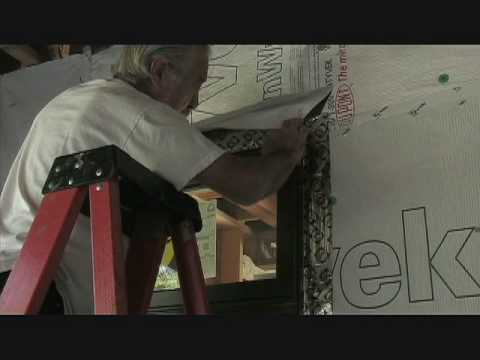 Pella Door installation at the Colleyville ECO House