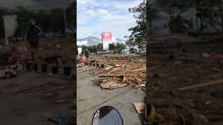 puing Puing TVRI Palu dan Anjungan Pasca Gempa dan Tsunami Palu