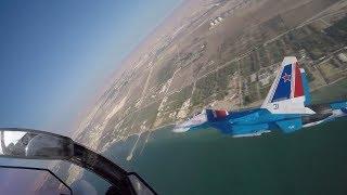 """Выступление """"Русских витязей"""" на авиасалоне в Бахрейне"""