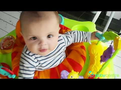 Fisher-Price Roarin' Rainforest Jumperoo - Review! (Sponsored)