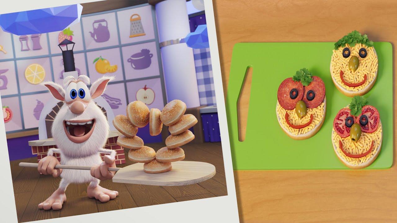 بوبا 🍕 لغز الطعام: البيتزا البسيطة 🍕 الحلقة - كارتون مضحك للأطفال