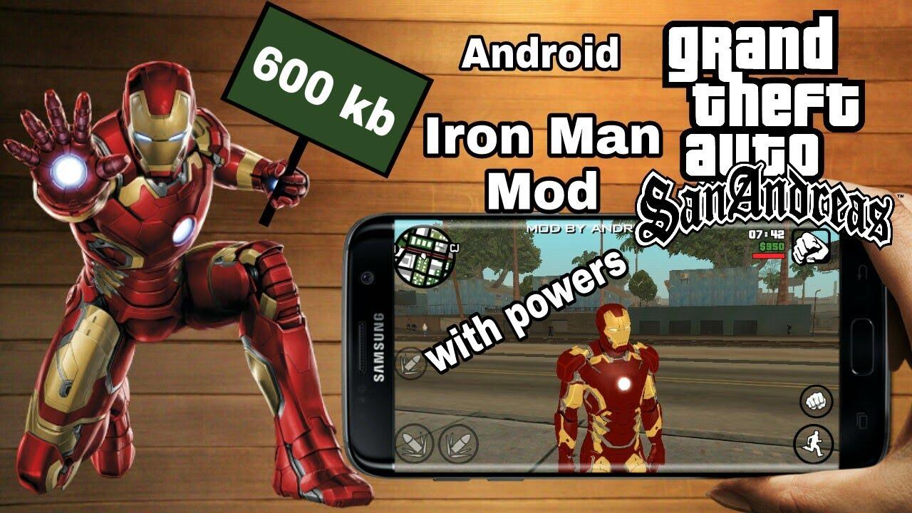 Gta SA Iron Man Mod Android by AndroKaran