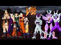 Familia De Goku Vs Familia De Freezer Dragon Ball Z Budokai Tenkaichi 3 Versión Latino Wii Batallas mp3