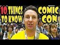 San Diego Comic-Con Things to Know Before You Go