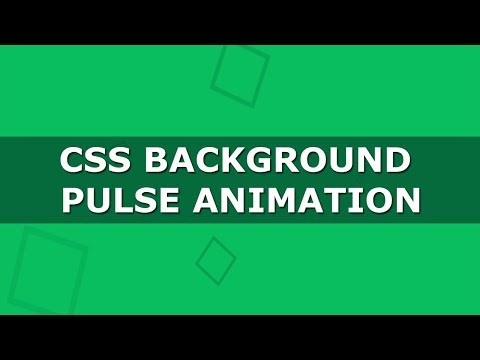 Css3 Background Pulse Animation - Pure CSS Tutorials - Css Animated Background thumbnail