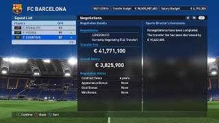 PES 2017 transfer free (cheat engine)