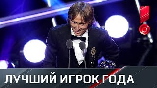 Лука Модрич признан лучшим игроком года по версии ФИФА