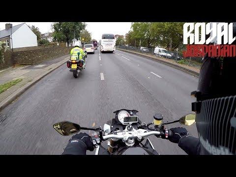 Always nice to alert your fellow filtering bikers