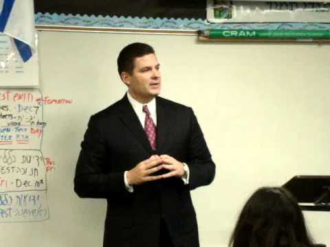 Politz Day School of Cherry Hill Welcomes Assemblyman Greenwald, Part 2
