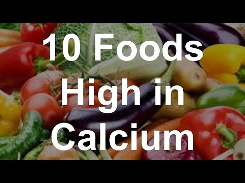 10 Foods High in Calcium