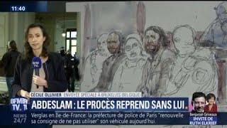 Le procès Salah Abdeslam reprend sans lui, à Bruxelles
