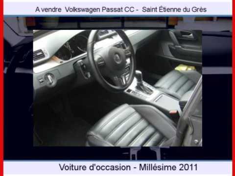 achat vente une volkswagen passat cc saint tienne du gr s youtube. Black Bedroom Furniture Sets. Home Design Ideas