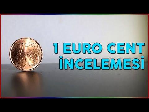 1 Cent (0.01 Euro) İncelemesi Ve 1 Kuruş İle Karşılaştırması