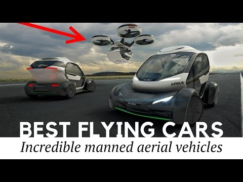 Top 10 Flying Cars, Passenger Drones and Autonomous Aerial Vehicles