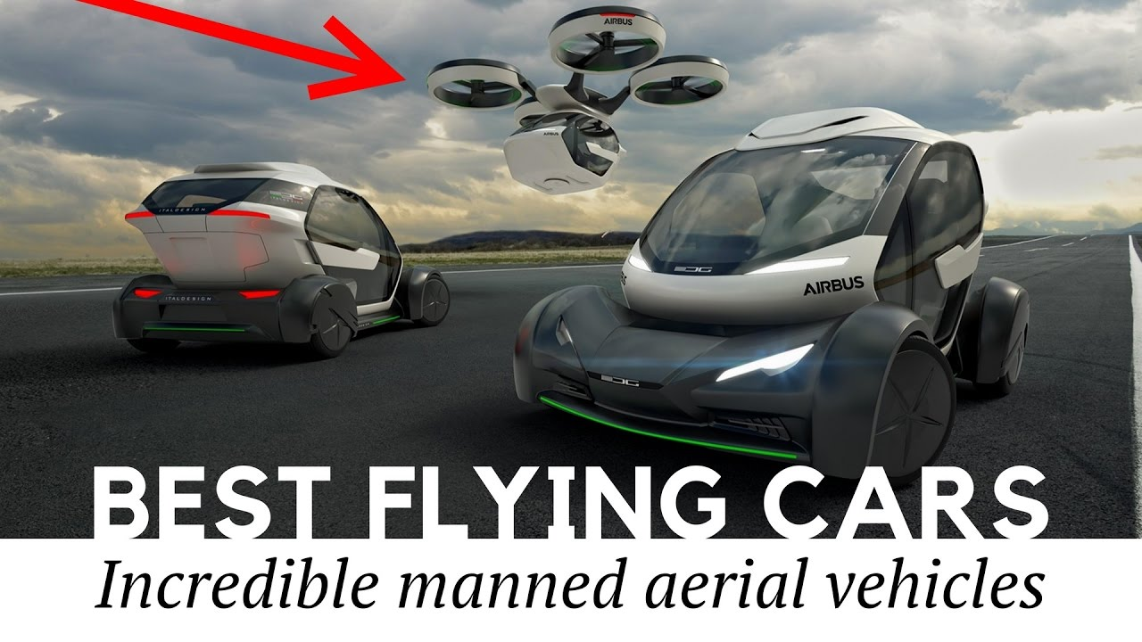 Top 10 flying cars passenger drones and autonomous aerial vehicles