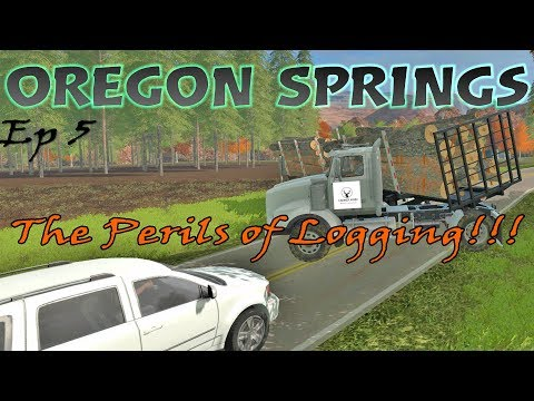 Let's Play Farming Simulator 17 PS4   Oregon Springs   On The Farm - Ep 5