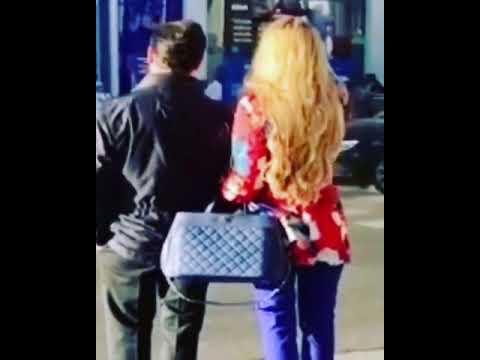 Enrique Peña Nieto y Tania Ruíz pasean juntos en Madrid