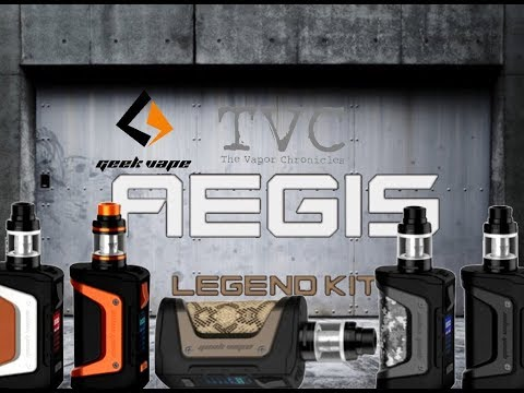 Aegis Legend Kit by Geekvape \ 200 Watts Of Toughness \ Impressions On TVC