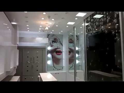 Jewellery Showroom Interior Design In Meerut Youtube