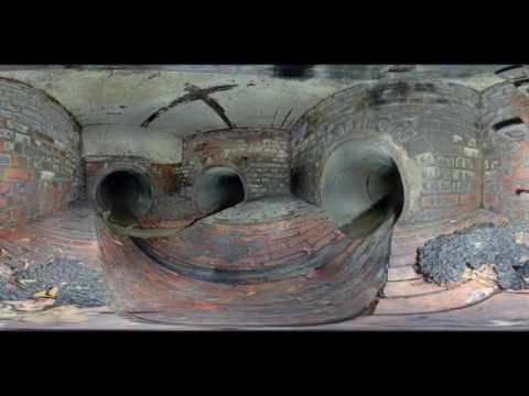 3D Laserscanning eines Sonderbauwerk Wasserverband Eifel Rur