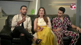 Nawabzaade Team || Interview || Raghav Juyal, Punit Pathak & Isha Rikhi || Music India