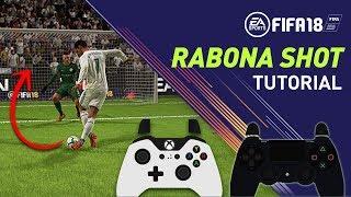FIFA 18 RABONA TUTORIAL - Como meter goles de RABONA! Rabona shot y Rabona cross
