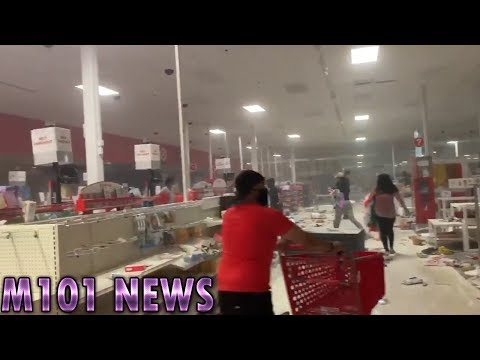 Target & Cub Foods Looted During Minneapolis Riots