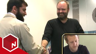 Amir intervjuer Atle Antonsen
