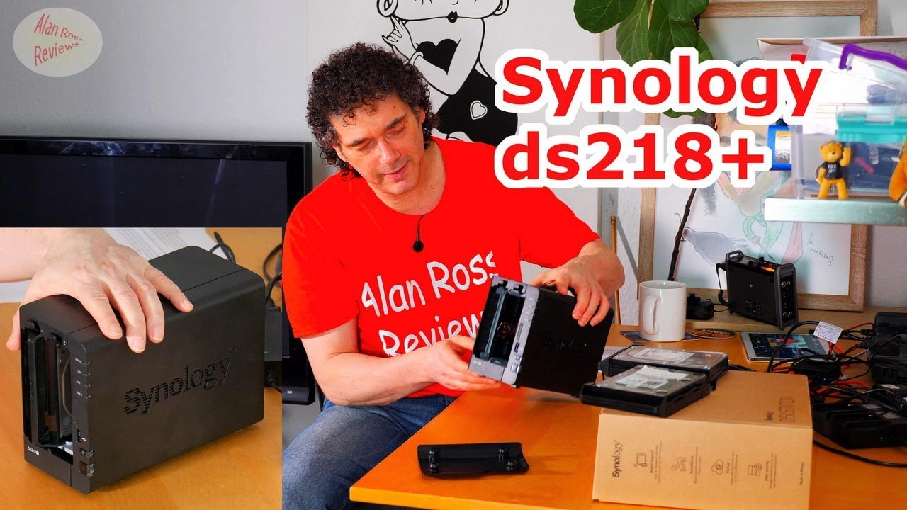 Repeat Synology ds218+ diskstation nas review by Alan Ross Reviews