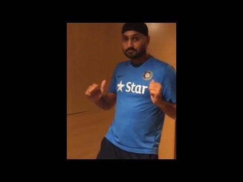 Harbhajan Singh challenges Sachin Tendulkar, Virat Kohli for Champion dance
