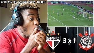 SÃO PAULO 3 x 1 CORINTHIANS - Melhores Momentos (HD) Brasileirão 21/07/18   Reaction
