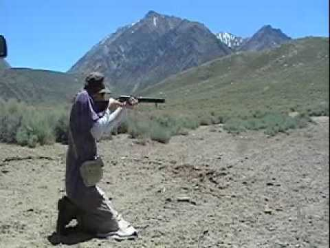 TC Scout Muzzle Loader trial, Crowley Lake