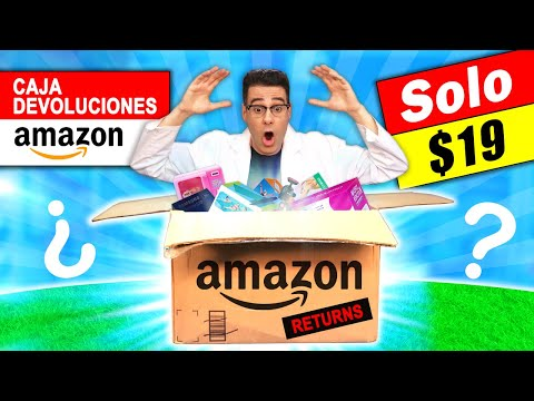 Compré CAJA de AMAZON DEVOLUCIONES por $19 📦❓ Caja Misteriosa   Curiosidades con Mike