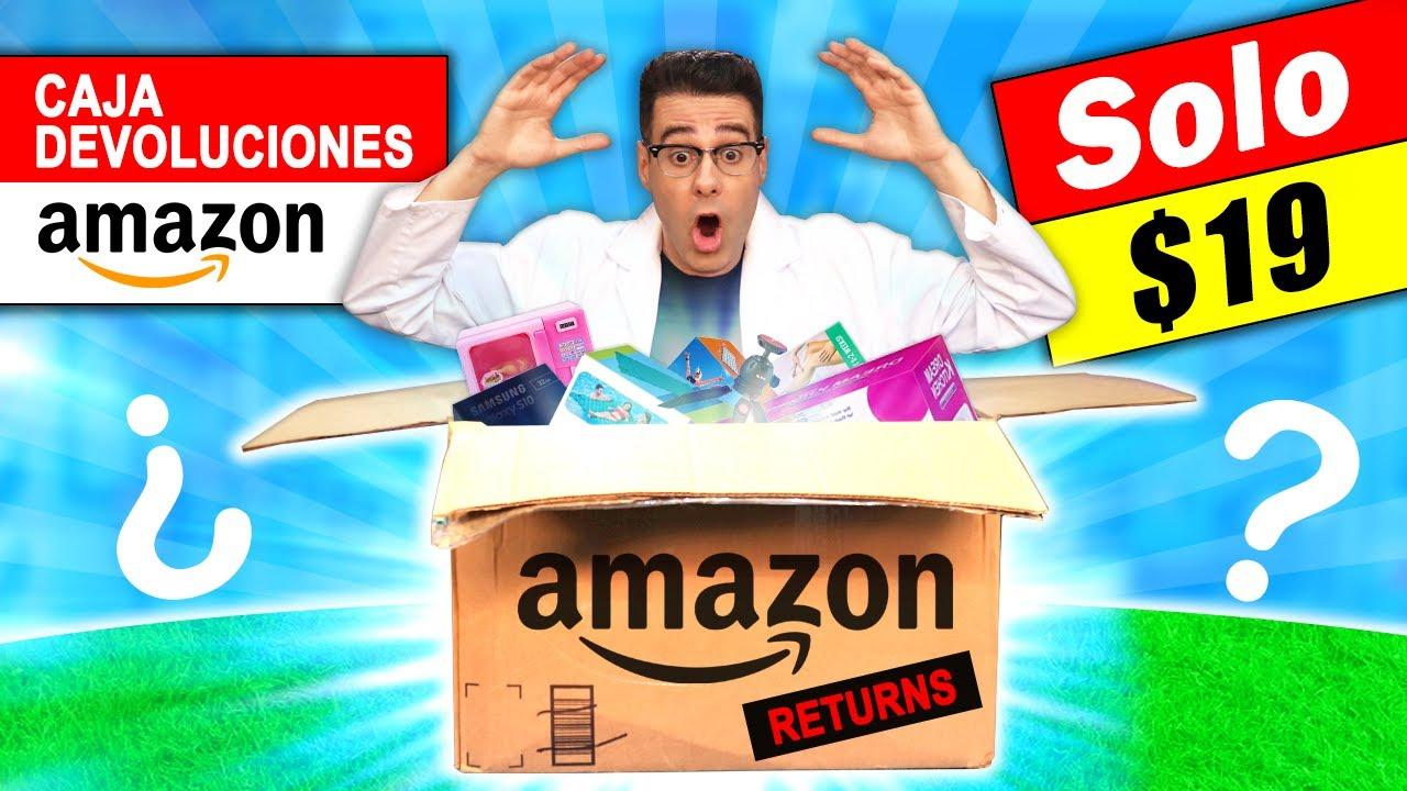 Compré CAJA de AMAZON DEVOLUCIONES por $19 📦❓ Caja Misteriosa | Curiosidades con Mike