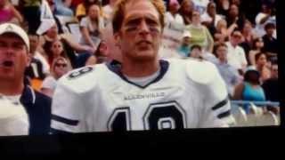 Steve Austin gets destroyed. Longest Yard