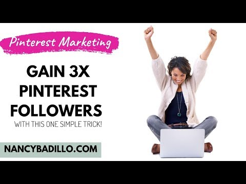 How To Gain Pinterest Followers In 2020 With This Pinterest Marketing Strategy thumbnail