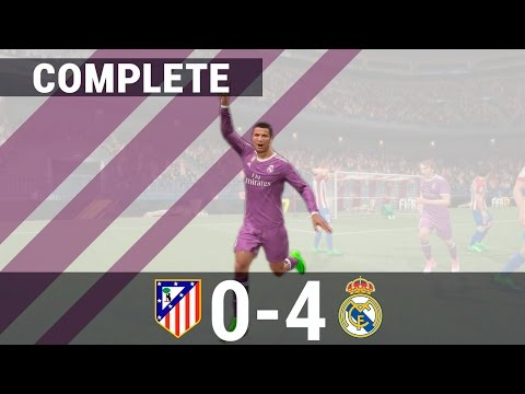 [PREDICT] Atletico vs Real Madrid 0-4 · Extended Match · UEFA Champions League 10/05/2017