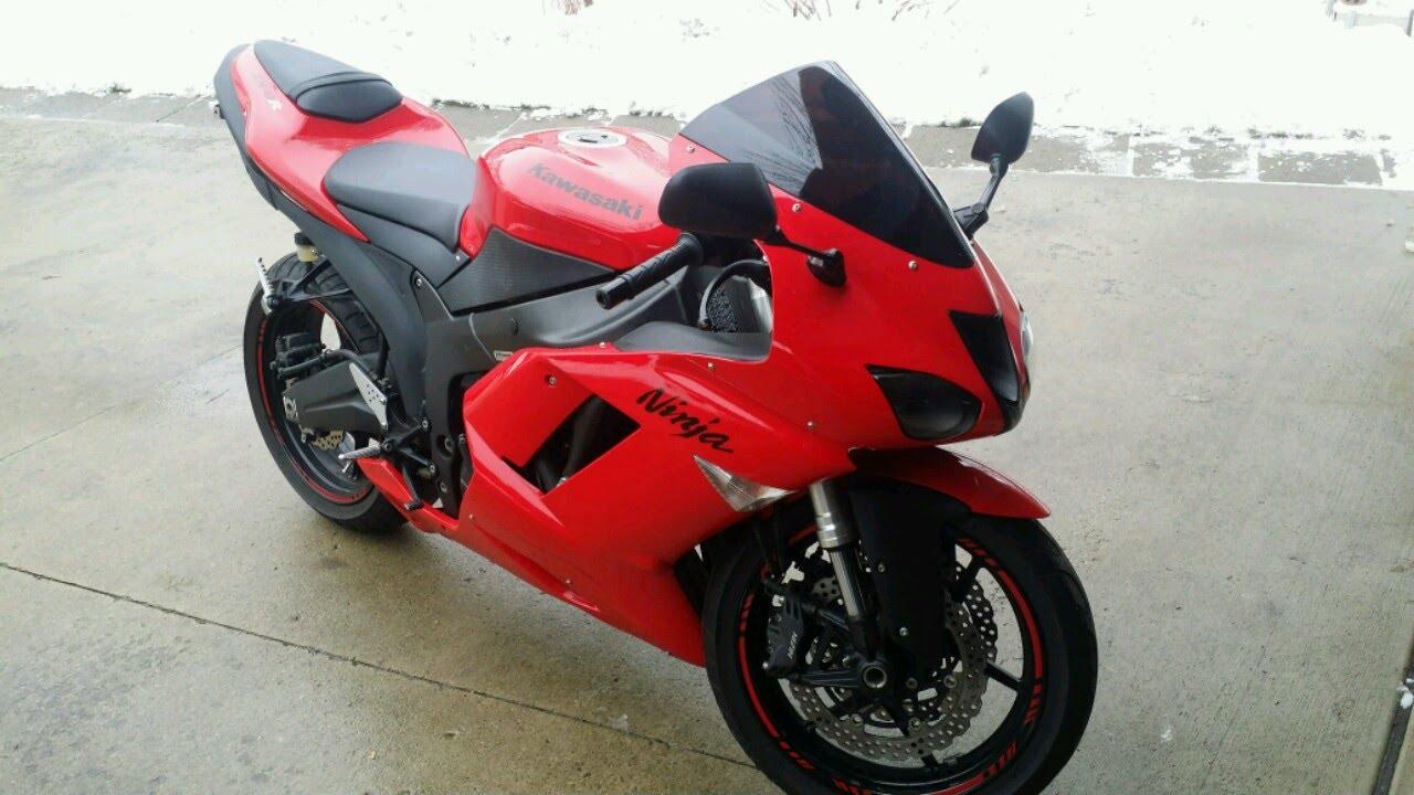 2007 2008 Kawasaki Ninja Zx6r Windscreen Replacement - YouTube