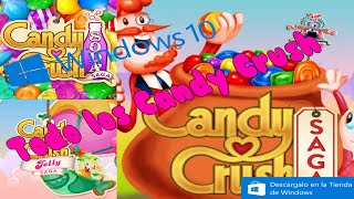 Como Descargar Todos los Candy Crush Para Windows 10