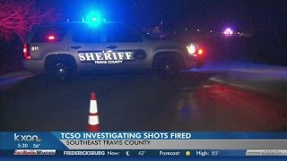 Police searching for gunman in Del Valle shooting