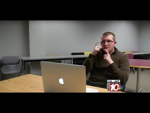 RIT on TV: New classroom technology helps deaf and hard of hearing students