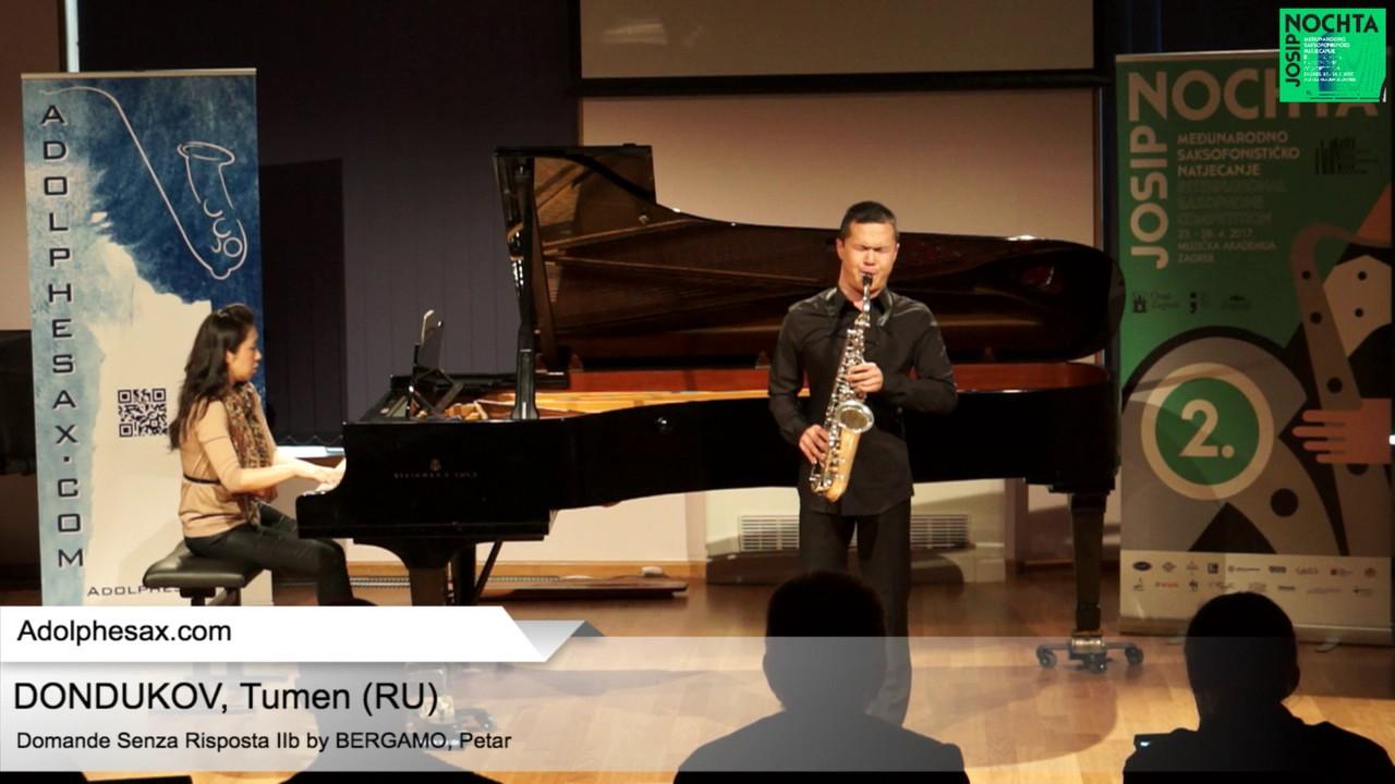 Domande senza risposta IIb Petar Bergamo   DONDUKOV, Tumen Russia
