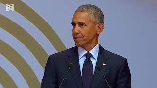 "Obama warns of ""strongman politics"""