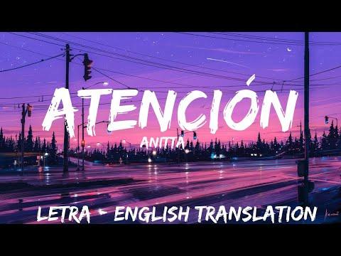 Anitta - Atención ( Letra / Lyrics / English Version
