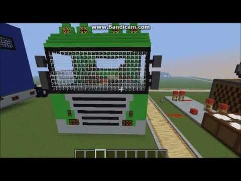 Scania R360 Pixelart In Minecraft YouTube