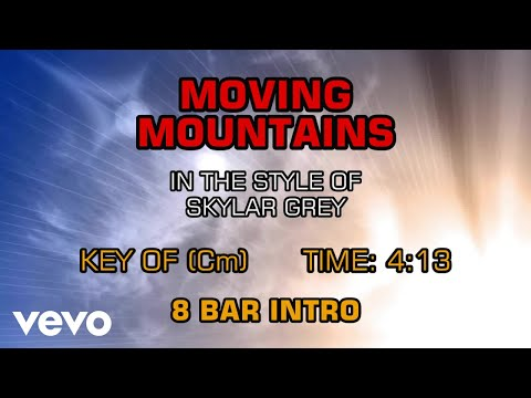 Skylar Grey - Moving Mountains (Karaoke)