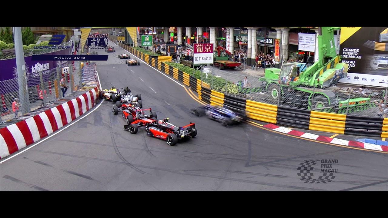 65th Mgp F3 Macau Grand Prix Fia F3 World Cup Highlights Youtube