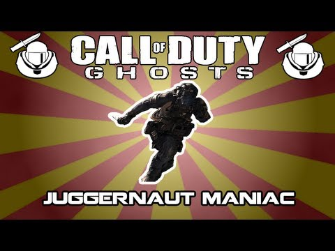 COD: Ghosts JUGGERNAUT MANIAC | Analyse | Stats,Health,Regeneration,Speed German/Deutsch