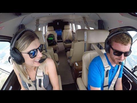 SHE IS A COOL CO-PILOT - Flying the KODIAK to Sun N Fun!